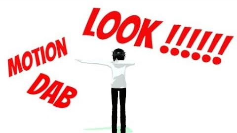 MMD -Jeff the killer- DAB +DL (This is my first motion !!)