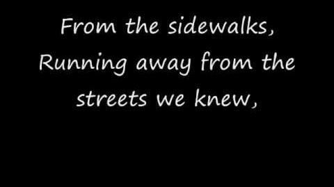Story Of The Year Sidewalks (Lyrics)