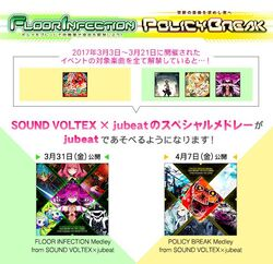 Jubeat SDVX special sound source