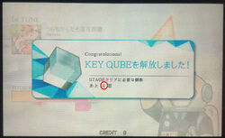 Needed KEY QUBE