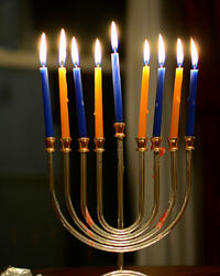 Chanukah Candles on the Eighth Night