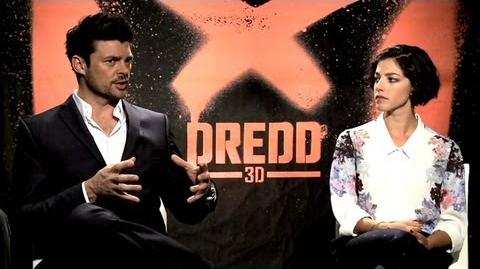 Dredd - Karl Urban and Olivia Thirlby Interview (JoBlo.com)