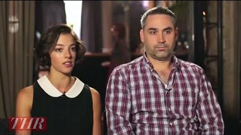 Alex Garland, Olivia Thirlby on 'Dredd 3D'