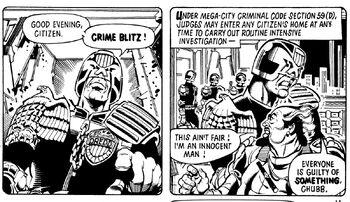 CRIME BLITZ!