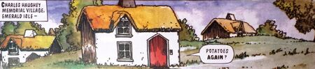 Irish hab village