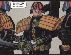 Mechanismo arrests Dredd
