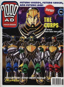 The Corps cover