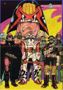 Dredd's World poster