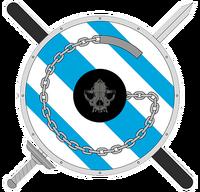 Emblema Asociación Galega de Jugger Agrupación Galega de Asociacións de Jugger AGJ AGAJ