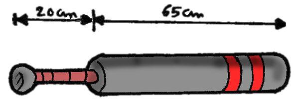Medidas Espada Corta Dual Jugger
