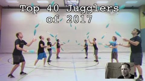 Luke reacts to the Top 40 Jugglers of 2017