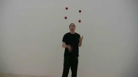 REVERSE JUGGLING!!! (or is it?)