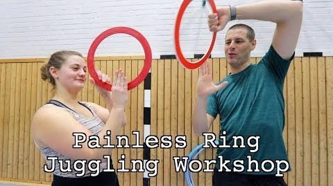 Ring juggling