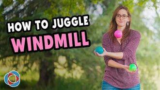 Learn to juggle 'WINDMILL' - Beginner Tutorial