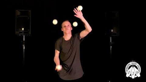 IJA Tricks of the Month by Lauge Benjaminsen - Ball Juggling