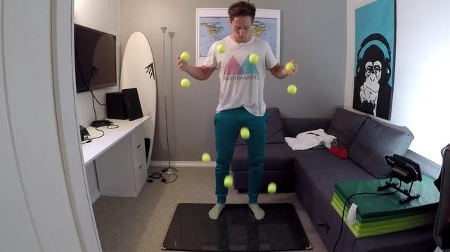 10 balls Mathias Ramfelt