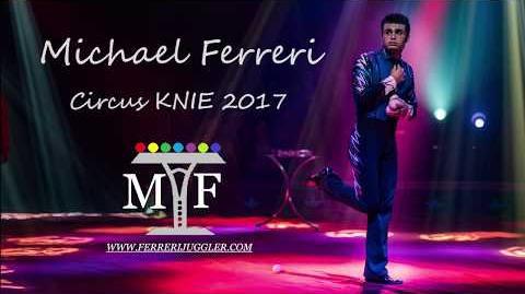 Michael Ferreri Circus Knie 2017