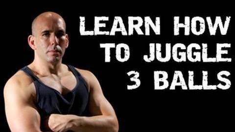 Learn How to Juggle 3 Balls