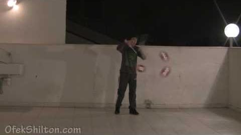3 Diabolo tricks by Ofek Shilton