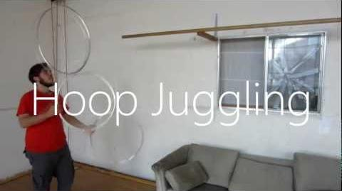 How to Juggle Hoops- Tutorial
