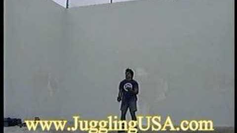 Bruce Sarafian 8,9,10,11 & 12 Ball juggling