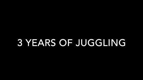 3 YEARS OF JUGGLING - Foppe Coenen