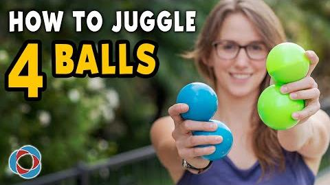 Learn to JUGGLE 4 BALLS - Intermediate Tutorial-0