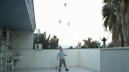 4 diabolo tricks - ofek shilton 12 years old