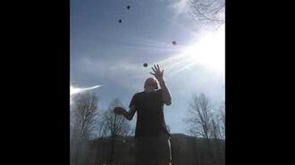 8 Balls-56 Catches,9 Balls-33 Catches,11 Balls-17 Catches,And 12 Balls-14 Catches