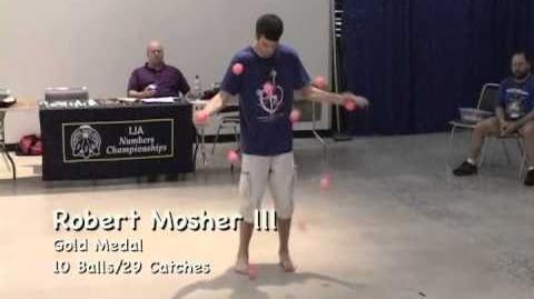 Robert Mosher III - First 10 Ball Bounce Juggling Qualify-1