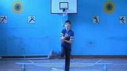 Ball kick-ups by Vova and Olga (2002-2003)