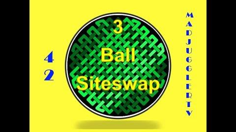 42 ~ Three Ball Siteswap