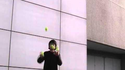 4ball juggling