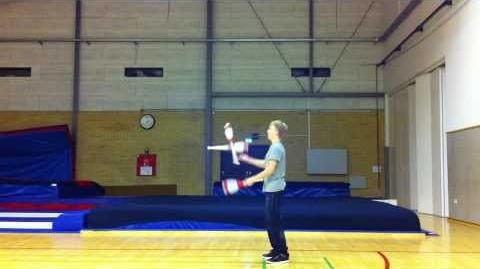 3 Club Shoulder Roll Sequence