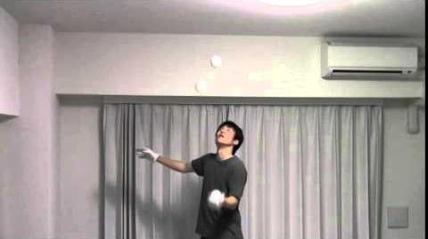 3 balls in one hand 11min 48sec by Ryotaro CHIBA on Dec 10th 2014