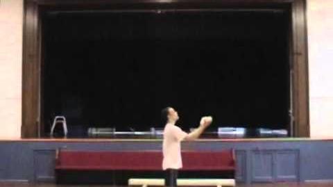 Chris Hodge - Summer 2011 Juggling