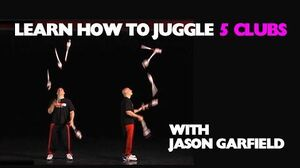 Learn How to Juggle 5 CLUBS