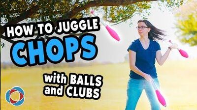 How to JUGGLE CHOPS with CLUBS and BALLS - Intermediate Juggling Tutorial