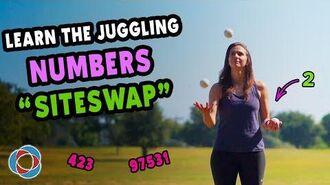 Learn the JUGGLING NUMBERS!- SITESWAP Tutorial