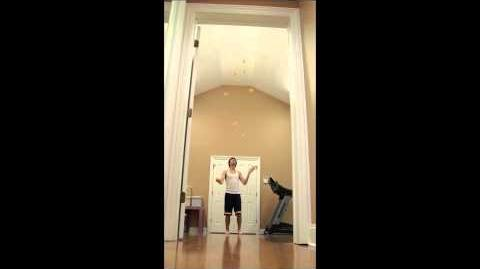 10 Ball World Record- 26 Catches by David Ferman
