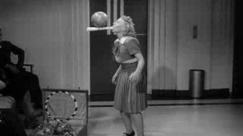 Trixie Firschke Juggling with Fred Astaire
