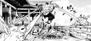 Fushiguro binding Todo with Chimera Toads