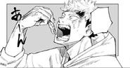 Yuji eats Sukuna's finger
