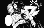 Mai holding Nobara