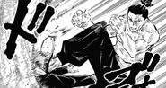 Aoi pummels Yuji