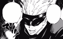 Satoru suggests he kill the higher ups