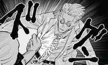 Mahito touches Nanami's soul