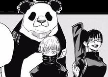 Maki, Toge, and Panda
