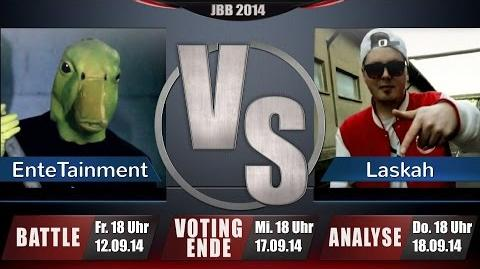 JBB 2014 4tel-Finale 1 4 - EnteTainment vs. Laskah ANALYSE