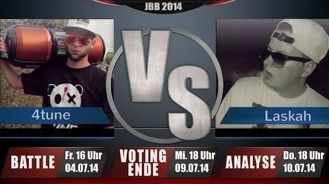 JBB 2014 8tel-Finale 1 8 HR - 4tune vs